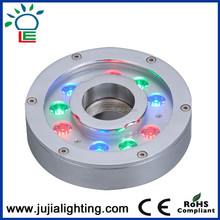 COB 12w recessed outdoor led underwater light led pool light