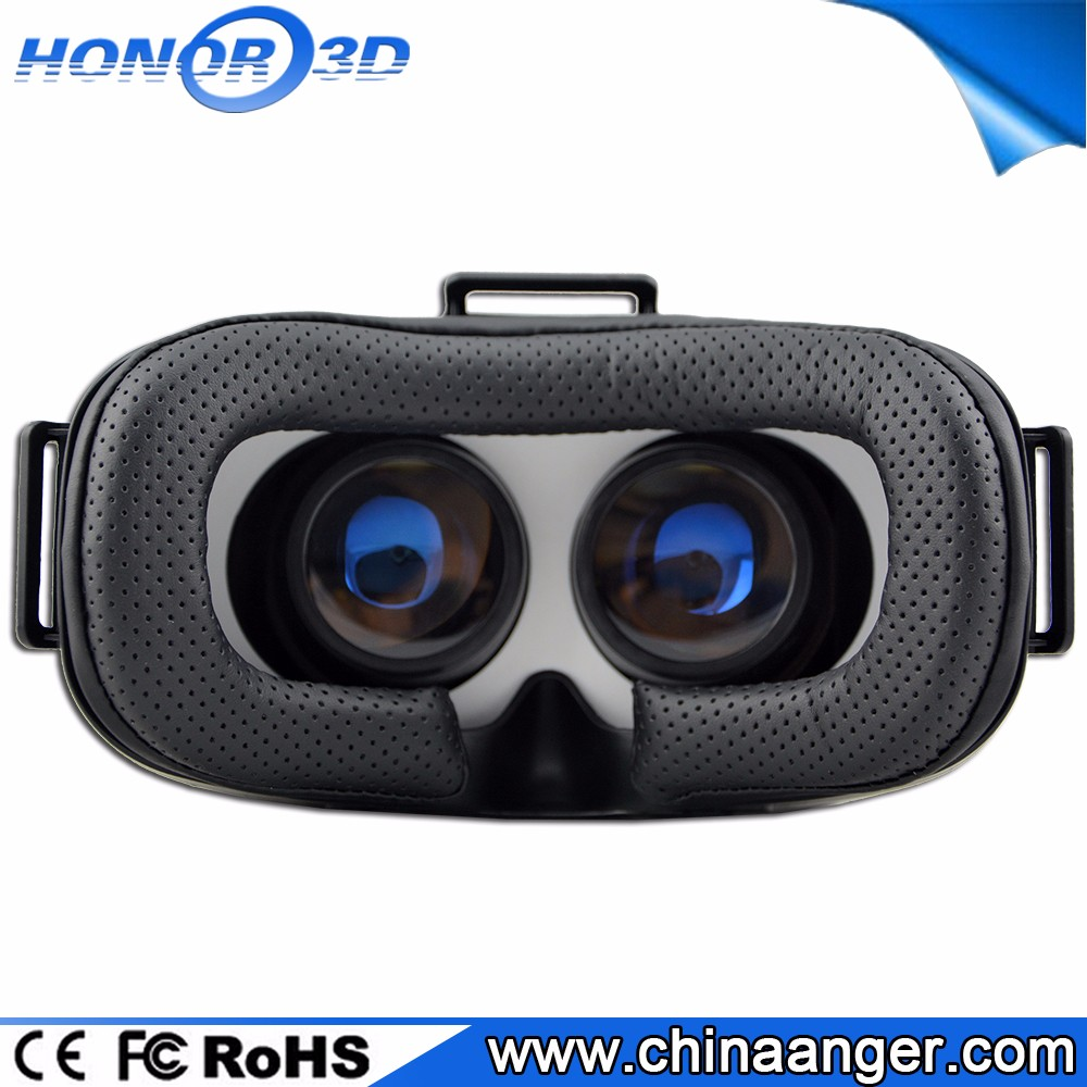 Manufacturer 3D VR Box Headset( Full HD FOV SBS ) Watching Virtual Reality Video, Playing Roller Coaster Gmaes