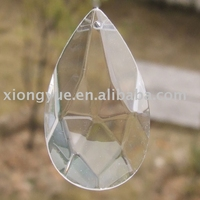 wholesale Crystal chandelier parts full cut glass prism