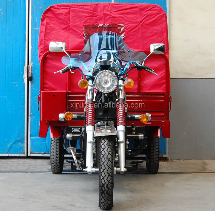 250cc motor Passenger three wheel tricycle for africa market