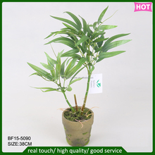 factory outlet artificial flower, decorative artificial bamboo plants making