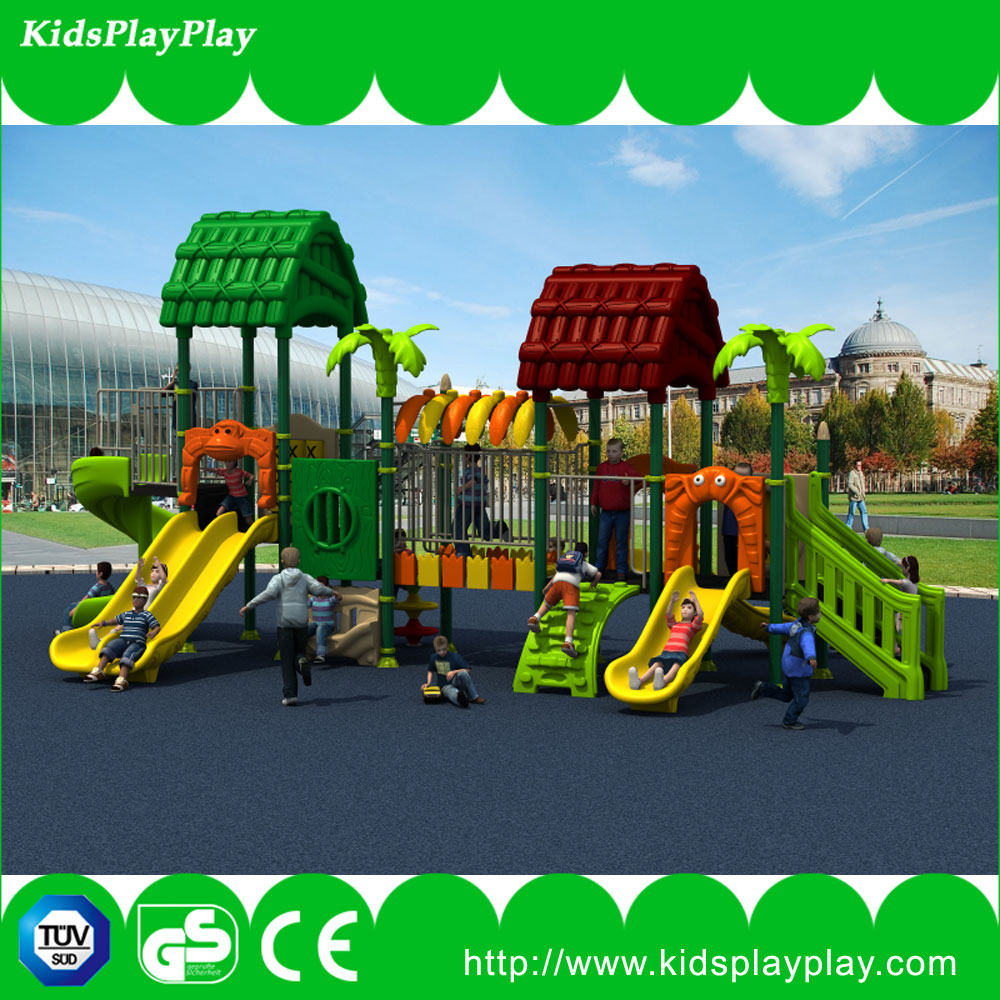 Outdoor Playground Type and Plastic Playground Plastic and metal part