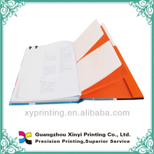 high quality hardcover book with CD case