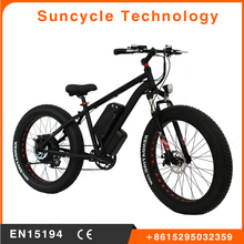 "Suncycle Sport Hummer fat electric bikes 26""*4.0 big tyre with wide handlebar all terrain electric bicycle fat 500w"