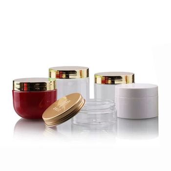 Face Mask Cosmetic Container Plastic Jar with Scerw Lid in china