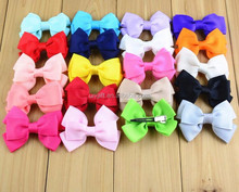 Bowknot Kids Baby Children Hair Clip Bow Barrette Hairpin Accessories For Girls Ribbon Hair Bow Ornaments Hairgrip Hairclip
