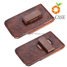 Customized Leather Cell Phone Belt Clip Holster Case for Apple iPhone 7