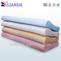 Molded Memory PU Foam Rolled Packing Double Pillow