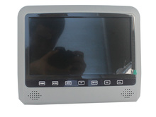 HOT!car headrest monitor dvd player back seat tv for car headrest dvd player