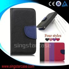 cheap mobile phone leather case for samsung galaxy s1