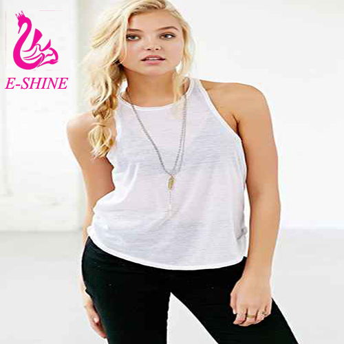 Summer Style Ladies Tube Tops Blouse Shirt New Fashion 2016 Fitness Sexy Hollow Out Sleeveless White Tank Top Women