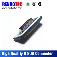 waterproof d-sub connector ip67 D-sub 9 pin male connector DB9