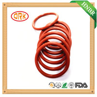 Flexible Low Temperature Resistance Red HNBR Rubber O Ring for Thermos