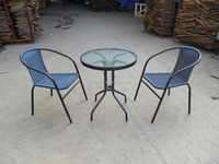 leisure furniture sets popular rattan glass teapoy table price glass cutting table