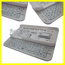 Sliding Mini Wireless Bluetooth Keyboard for iPhone 5 Keyboard Case for iPhone 5 White