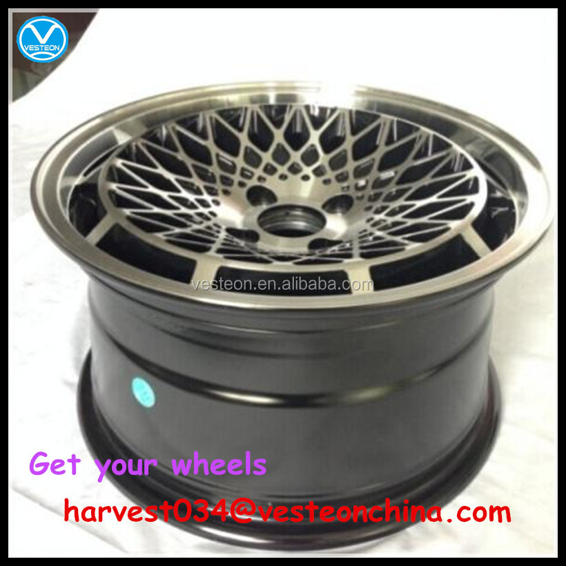 New design car alloy wheel rims for sale 15 16 17 inch