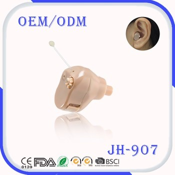 High resolution and high sensitivity low distortion mini ITE style hearing aid earphone
