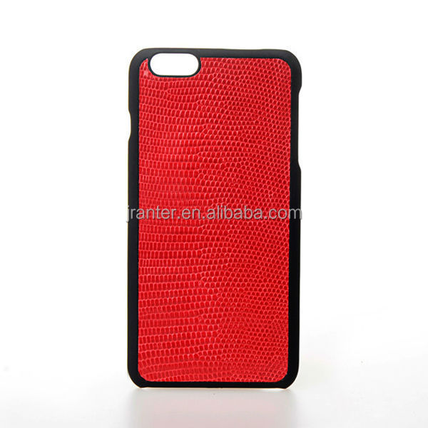 Handmade Luxury Genuine Lizard Leather Case for iPhone 6 6 Plus