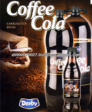 Carbonated drink Derby Coffee Cola 3L Pet Bottle