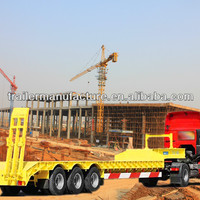 Heavy Machine Transport 3 Axle Lowbed