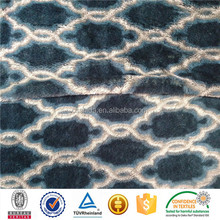 new design printed low pile supersoft pv plush fleece fabric