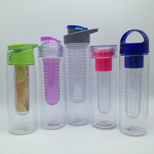 850 ml Plastic Tritan Fruit Infuser drinking Water Bottle
