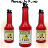 Sablee Pineapple Puree Fruit Paste for ice cream/dessert 1250g