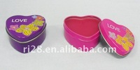 Heart tin case