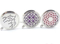 2016 gift items Fine jewelry 20MM/ 25MM/30MM Silver essential oil diffuser pendant