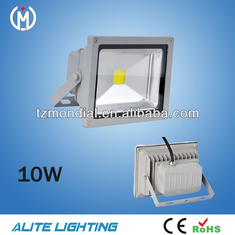 CE RoHS 10W IP65 outdoor /play ground/building LED Floodlight RGB