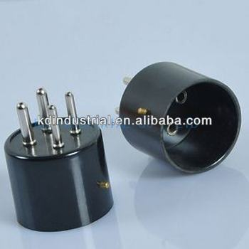 Triode Valve 4Pin Tube Base Bakelite Socket For 2A3 811A 300B 5Z3