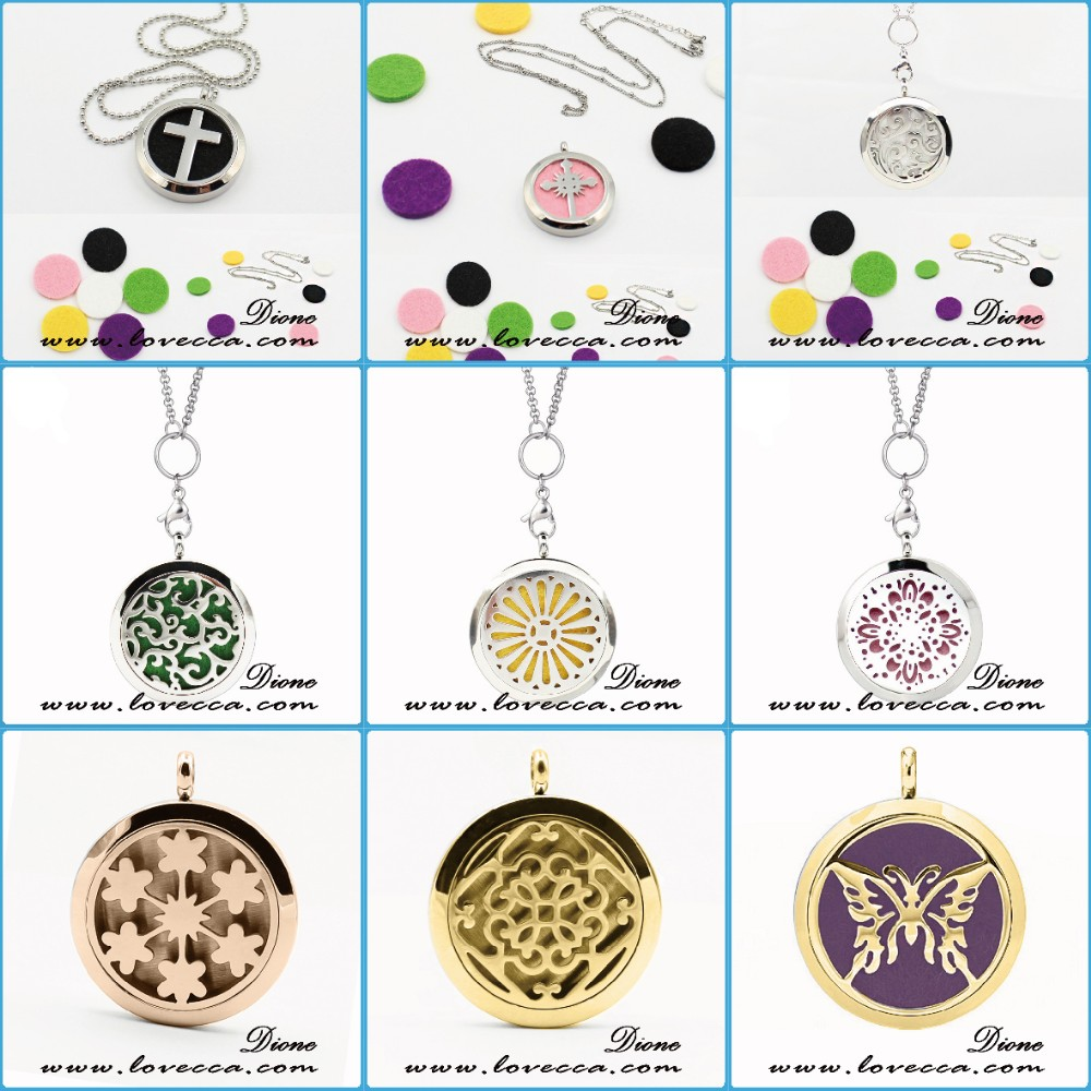 2016 Unique Necklace Engraved Perfume Charm Necklace For Women