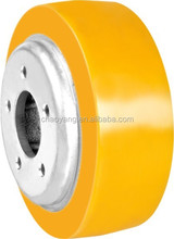 PU diving wheel for Mima electric forklift 215*75*90mm-H