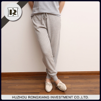 women comfortable loosen casual Leisure pants wool cashmere autumn slacks trunks sport pants