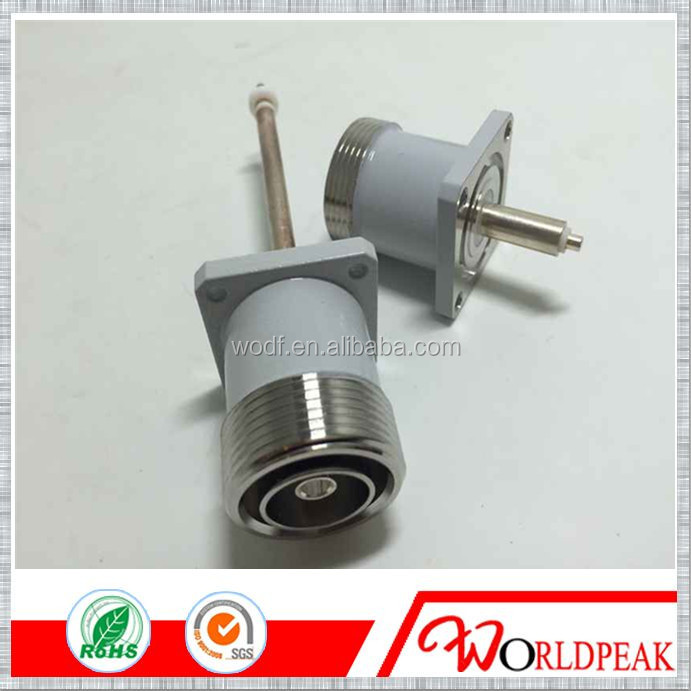 waterproof N female rg402 clamp rf cable m12 connector
