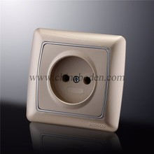 Hight quality Universal electric plastic 2P wall socket