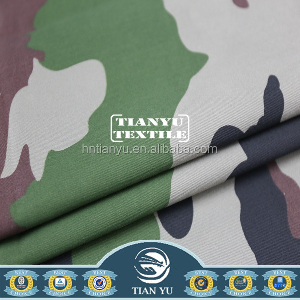 Military Woodland Multicam Camouflage Fabric