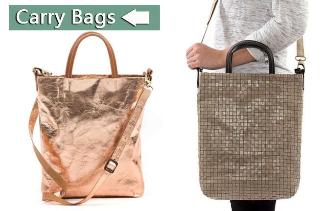 Brown Kraft Paper Bags Tote Bag/Washable Paper Bags Manufacture/Carry Bag