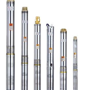 QJ type well submersible motor pump in stainless steel or cast iron