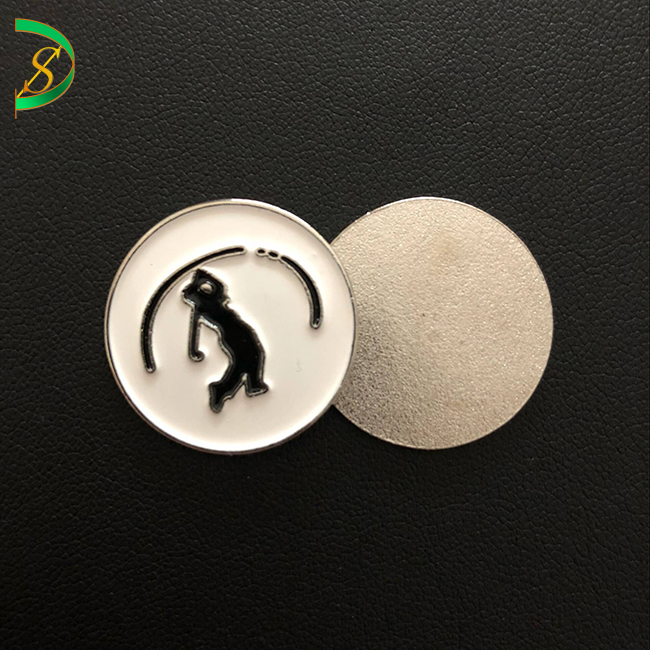 Magnetic golf ball marker mould fees&samples for free