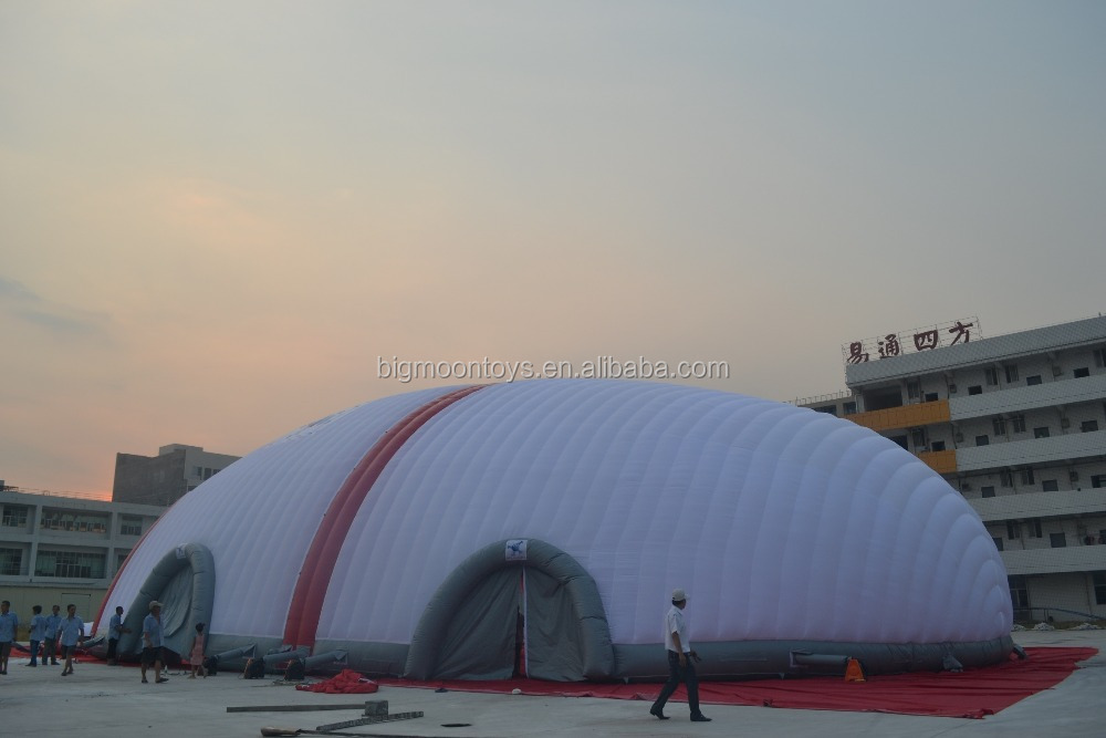 Giant inflatable tennis court tent / Air supported Structures