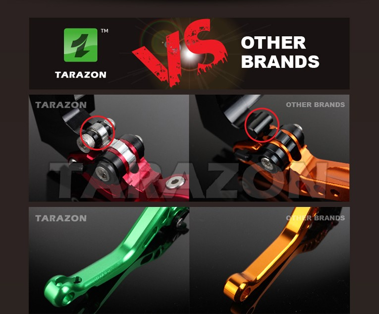 CNC billet high quality aluminum alloy 6061-T6 dirt bike brake clutch lever for motorcycle