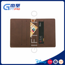 Chinese cheap price leather card holder wallet for credit card,id card,traffic card,business card