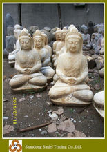 Top selling garden decor laughing antique buddha statue