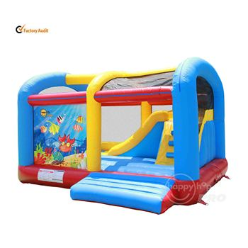 Happy Hop Pro 1019N--Ocean World Climb n Slide Bouncer