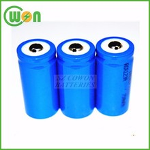530mAh 3V rechargeable lithium battery RCR123a battery 16340 RCR 123A rechargeable battery 3 volts