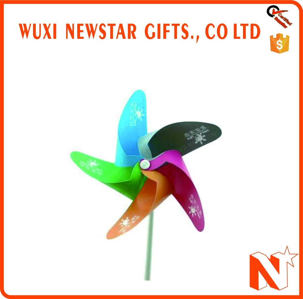 Most Welcomed Cheap Promotional Plastic Windmill