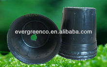 plastic plant pots/soft pots/one time use soft pots,cheap flower pot