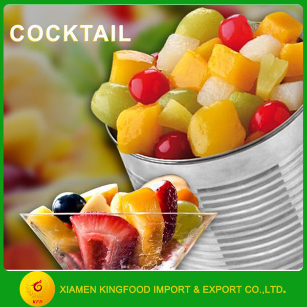 factory direct sales canned fruit cocktail