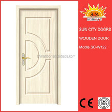 computer carved plain solid wood oak doors SC-W122
